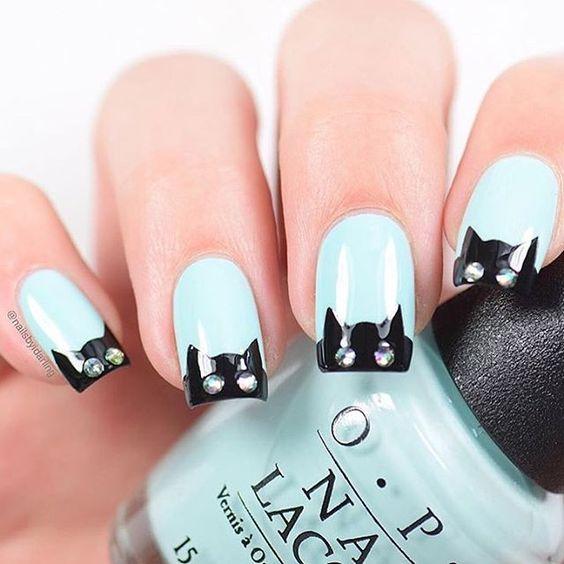 Manicure nail design
