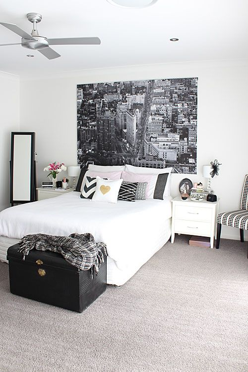 Black And White Bedroom Ideas - Stylendesigns