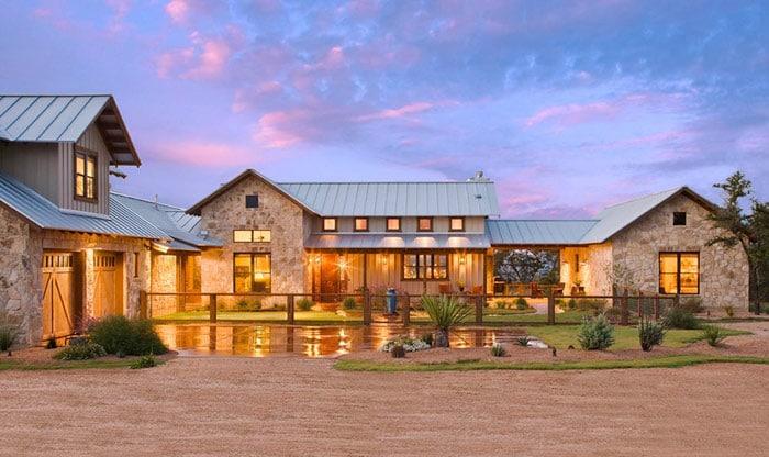 Ranch House Exterior Dream Home Plans