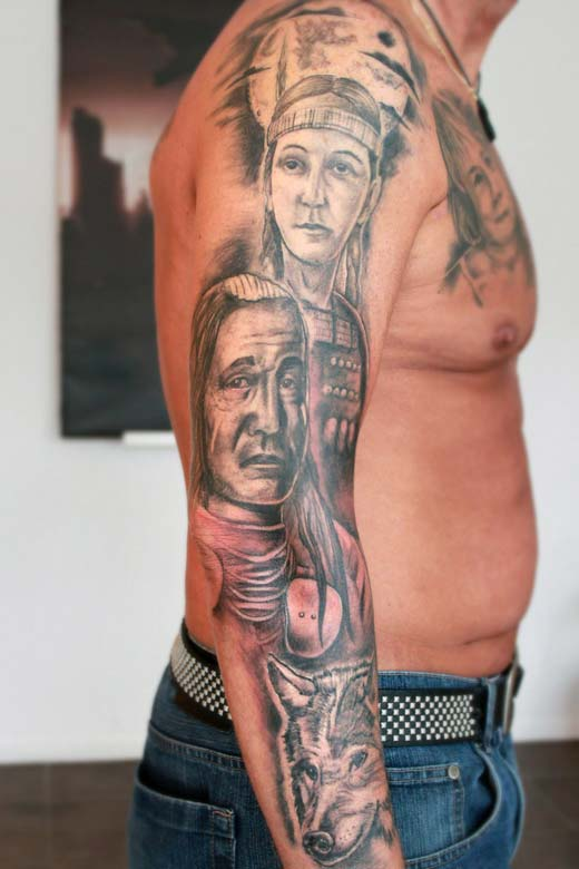 Native tattoos The Oldest Tattoos In History