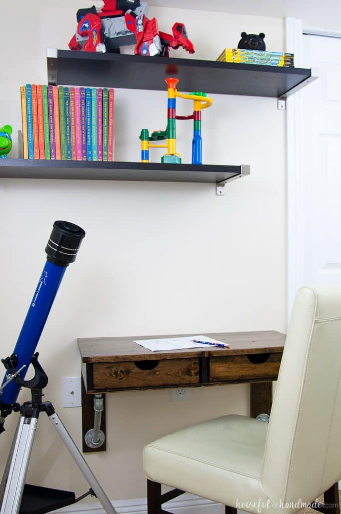 Wall-Mounted Table Idea | Solution for Small Space