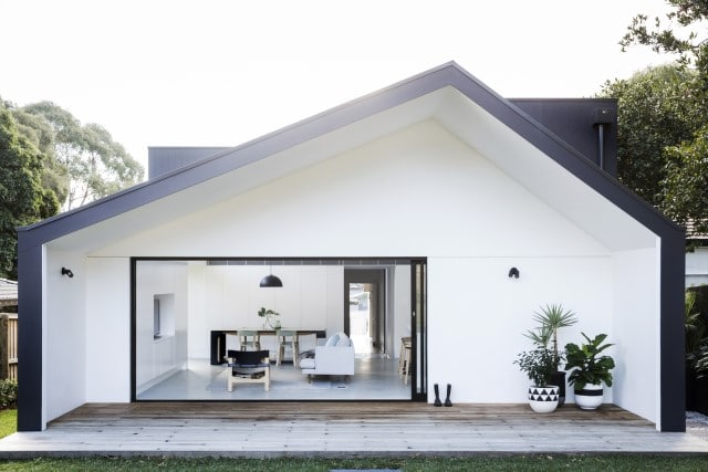 modern elevated bungalow house designs