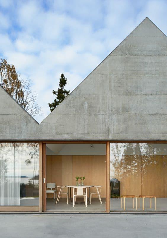 modern bungalow exterior