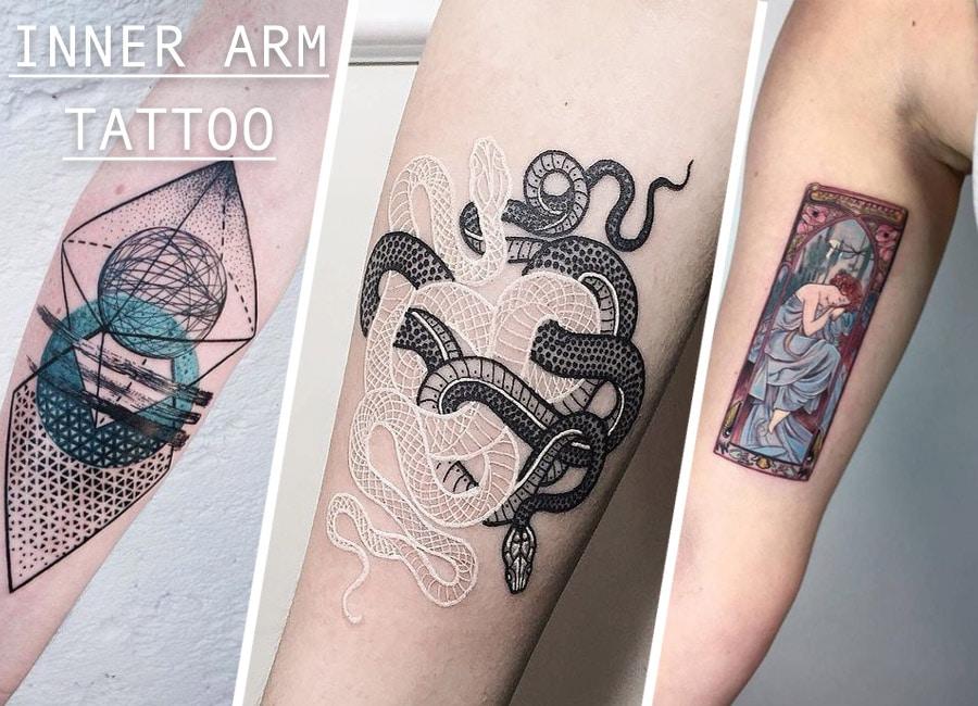 Top 16 Inner Arm Tattoo Designs