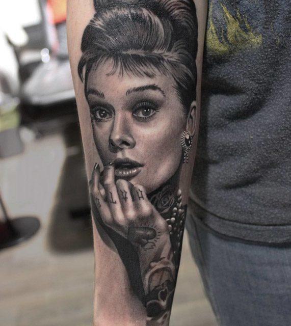 Tattoo Designs Woman Portrait: Top 16 Inner Arm Tattoo Designs