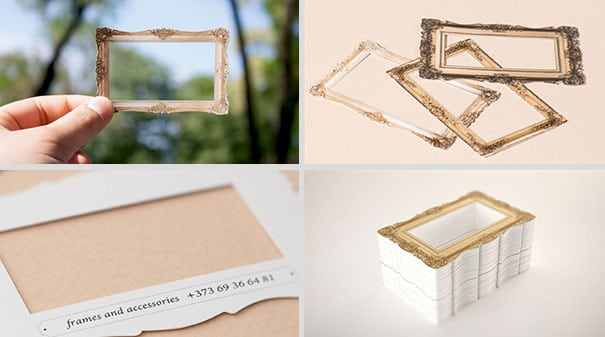15Picture Frame-Thirty Smart and Innovative Business Cards Ideas