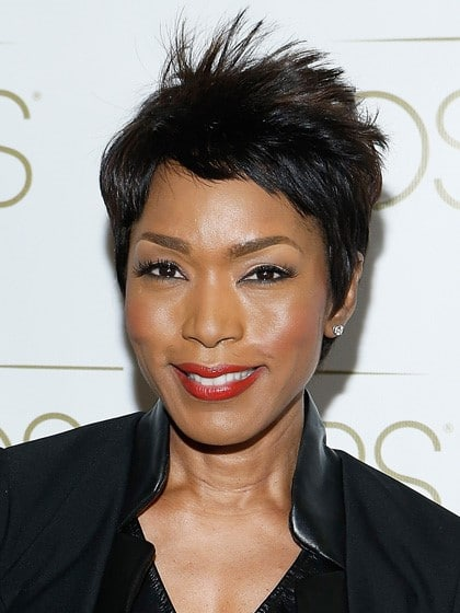Angela Bassett Short and Spiky-10 Short Hairstyles For Women Over 50-2