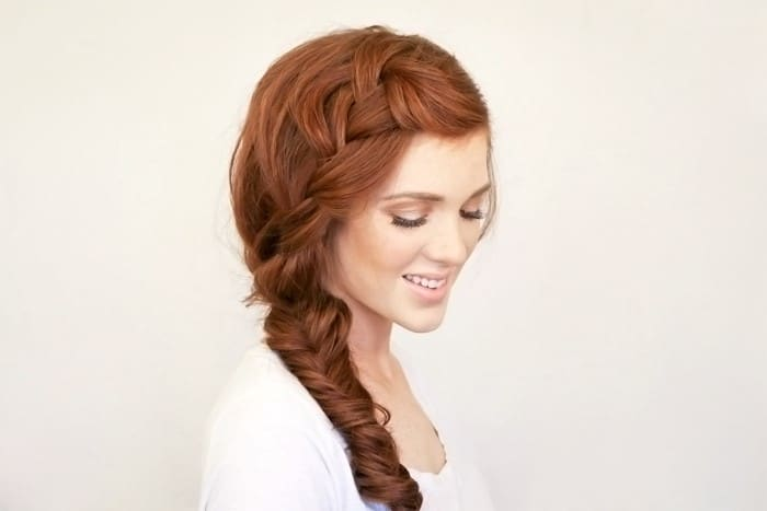 Bohemian Side Braid-10 Creative Hair Braid Style Tutorials-5