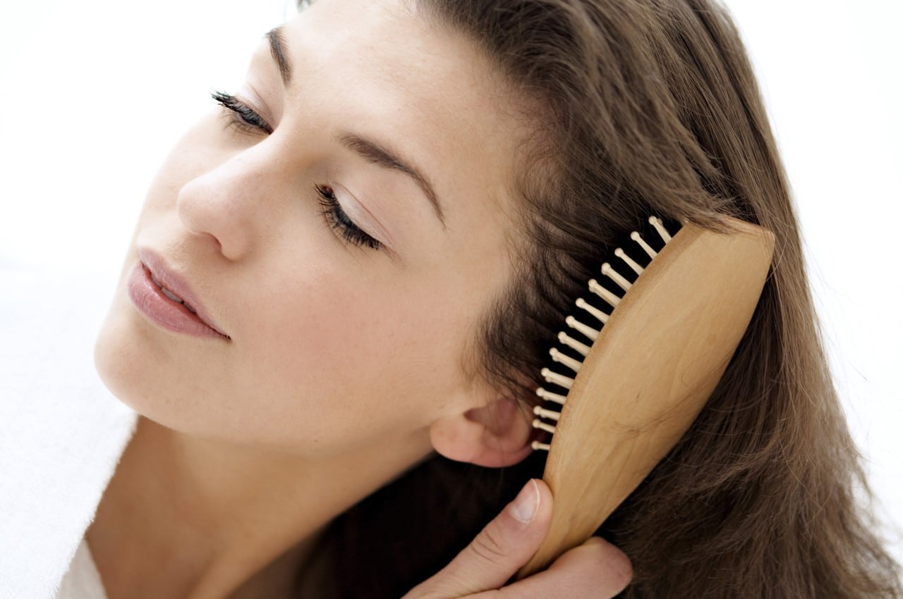 Brush regularly-Ways to Stimulate Hair Growth Naturally-6