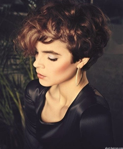 Short Bob Hair Styles for Curly Hair