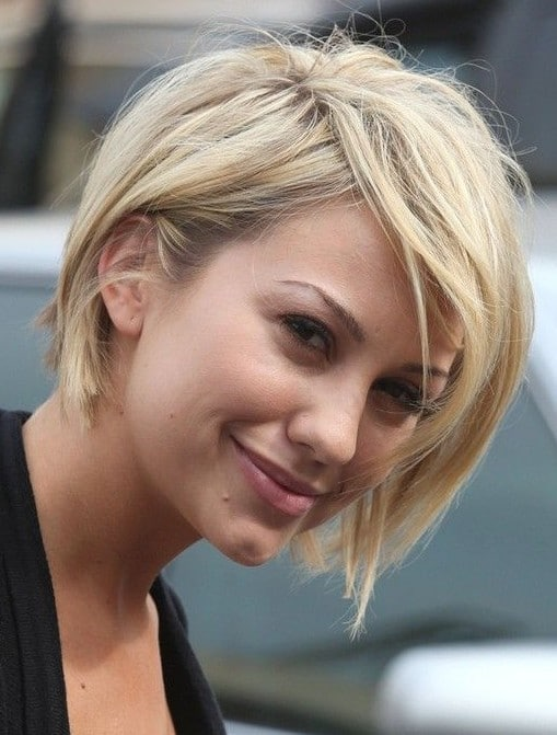Easy hairstyleEasy to use and easy to maintain-15 Short Hairstyles for Women10
