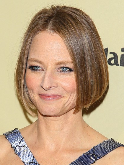 Jodie Foster The Bob-10 Short Hairstyles For Women Over 50-3