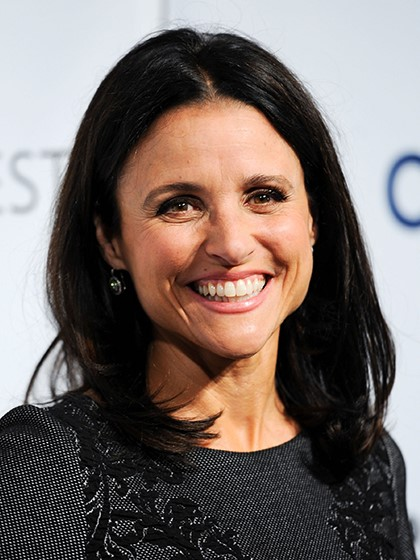 Julia Louis-Dreyfus Mid length-10 Short Hairstyles For Women Over 50-7