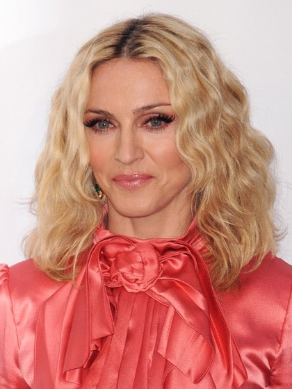 Madonna Wavy Lob-10 Short Hairstyles For Women Over 50-5