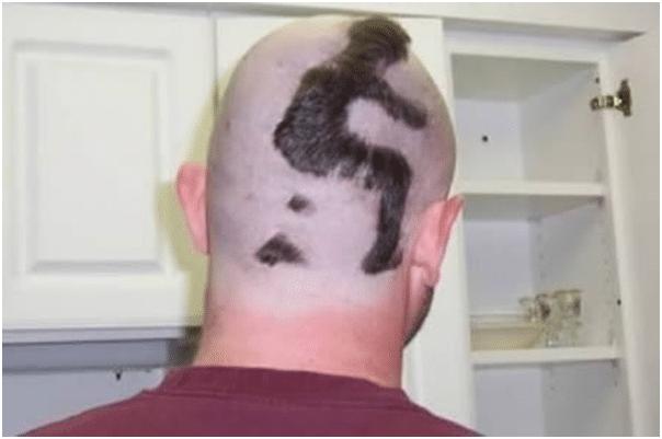 Man on head-10 Weirdest Hair Style For Man-3