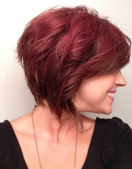 Red Curly hair-12 Short Bob Haircut Styles- 5