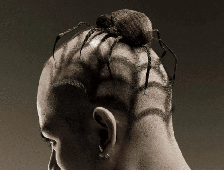 Spider man-10 Weirdest Hair Style For Man-4