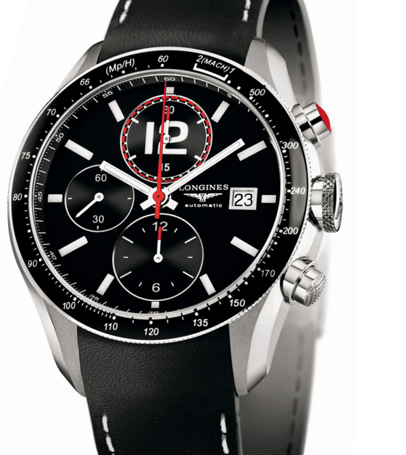 The Longines Grande Vitesse-12 Black Watches Which Would Make You Drop Your Jaw-8