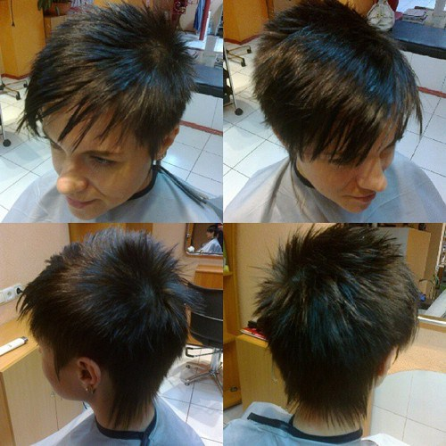 20 Short Spiky Hairstyles For Women Stylendesigns