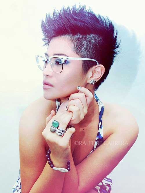 20 Short Spiky Hairstyles For Women