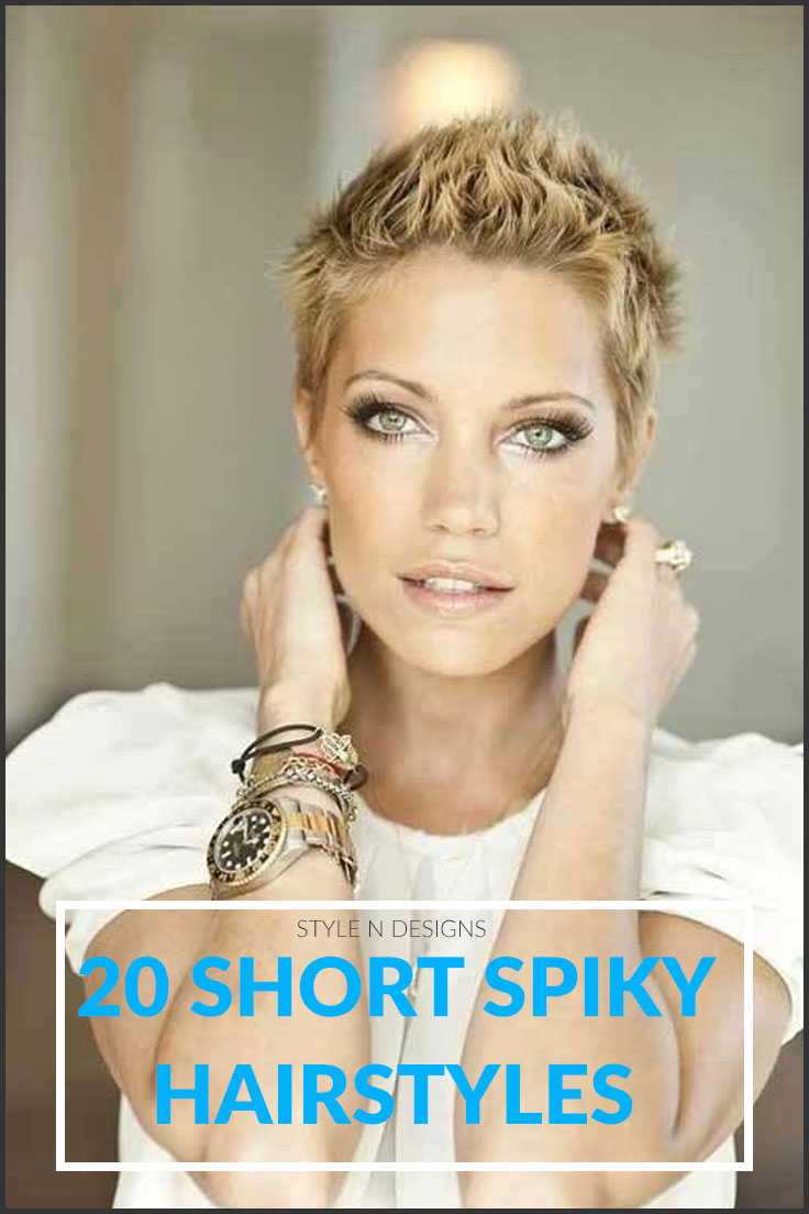 Short-spiky-hairstyles-for-women