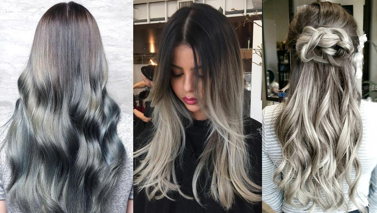 Ombre Hair Color Trends – Is The Silver #GrannyHair Style