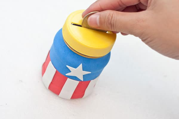 captain america coin bank