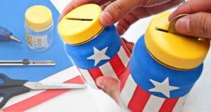 captain america coin banks