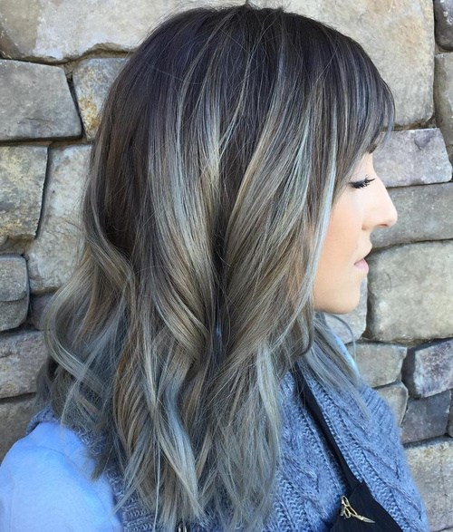 omber hair style ombre hair color trends is the silver grannyhair style 9810