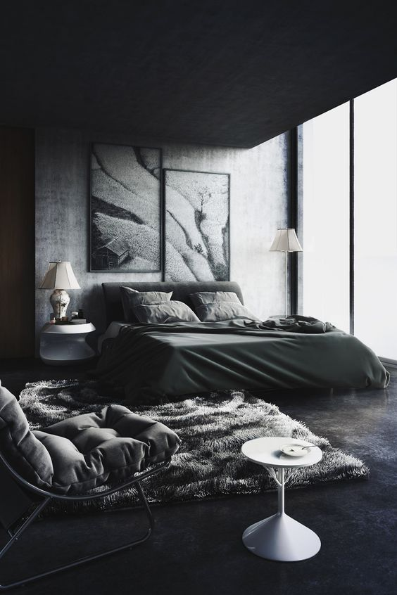 Black Bedroom Ideas