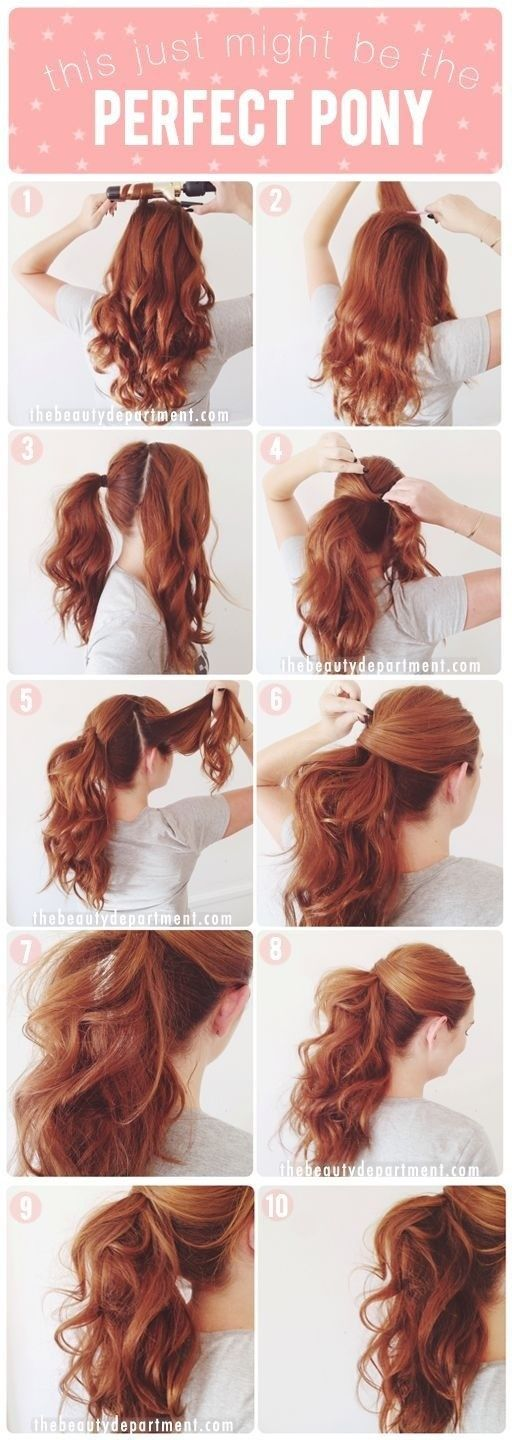 classic hairstyles the perfect ponytail