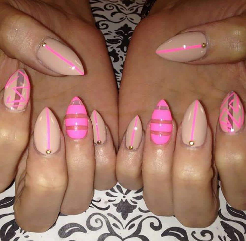 Long Stiletto Nail Art: 20 Worth Trying Long Stiletto Nails Designs