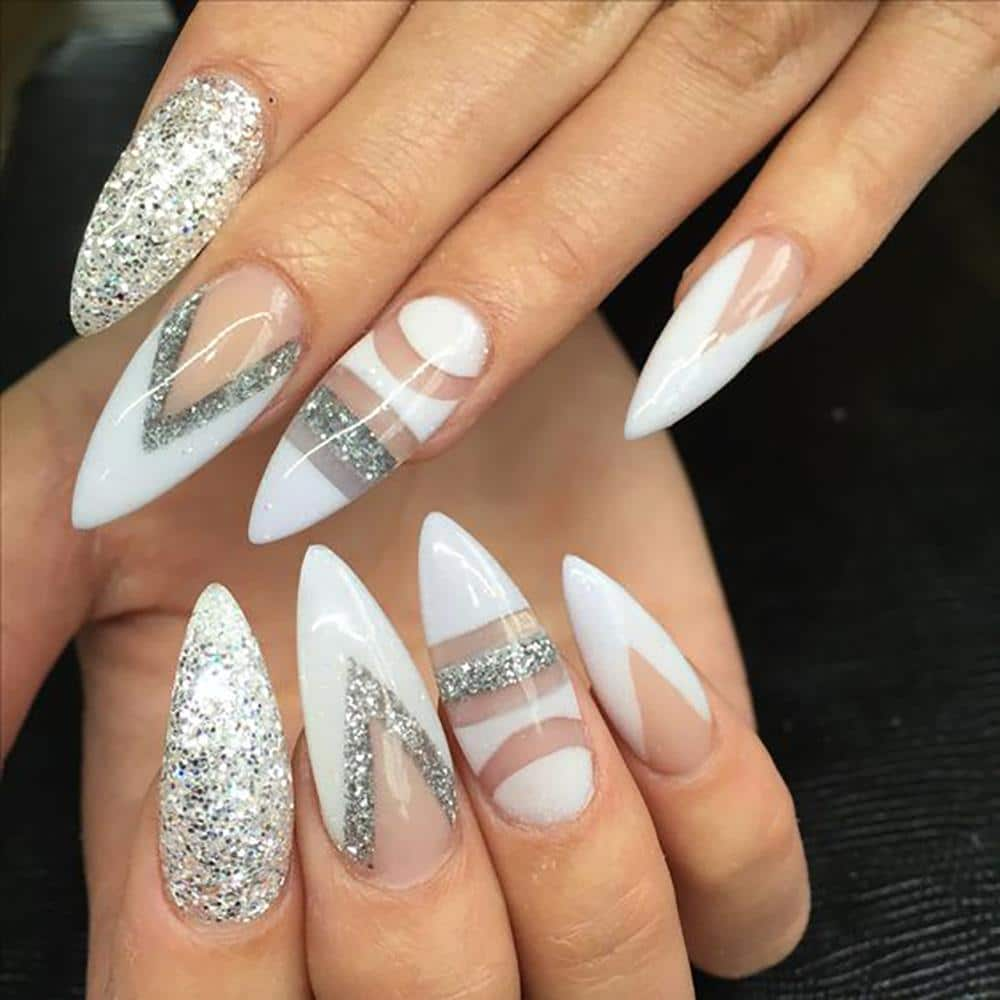 20 Worth Trying Long Stiletto Nails Designs - Stylendesigns