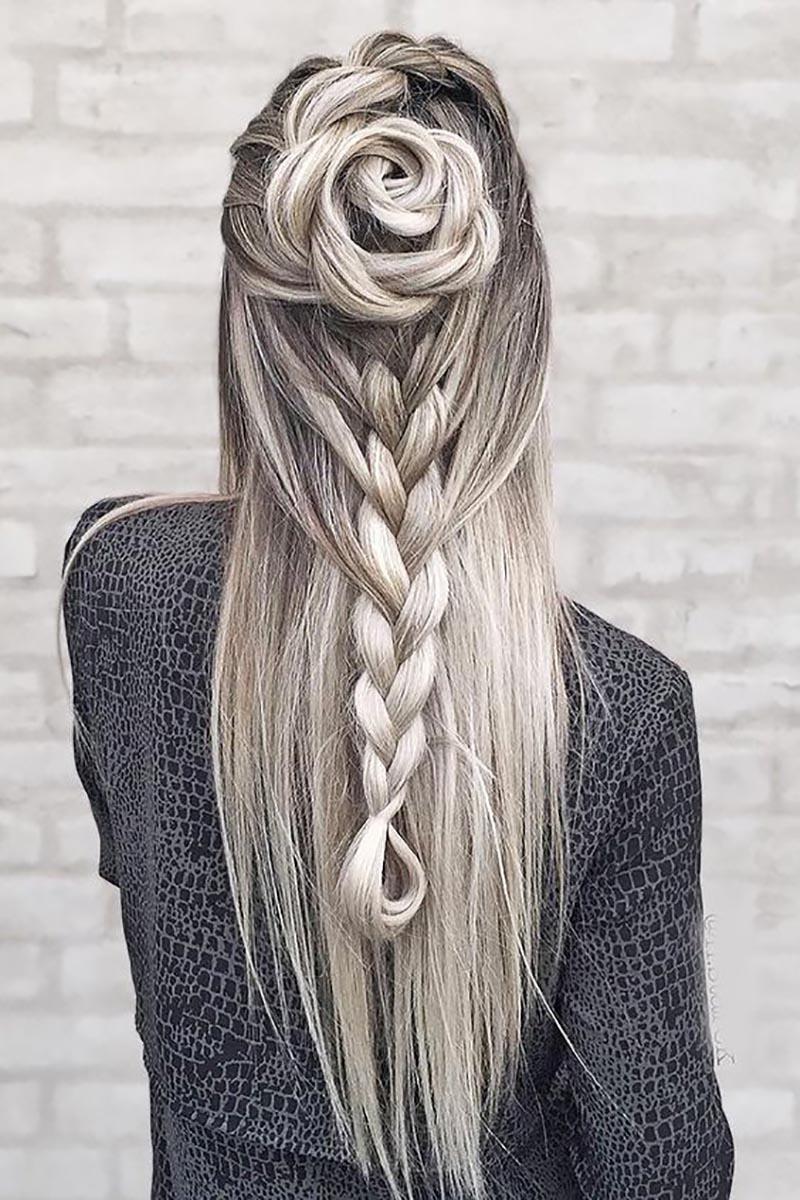 waterfall hairstyles