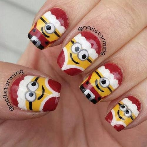 15 Minion Nails That Are Anything But Despicable