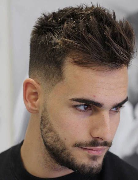 thick hair men