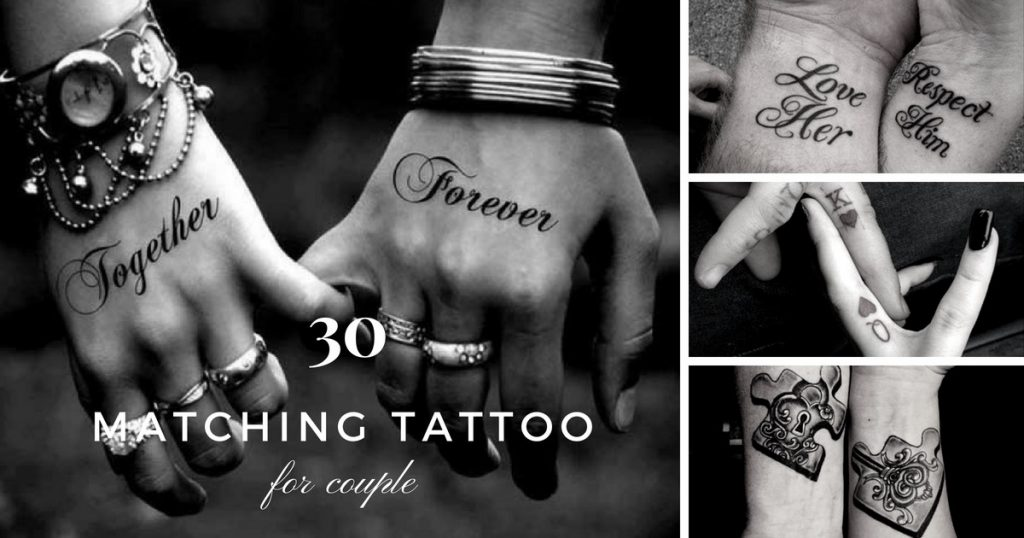 30 Matching Tattoo Ideas For Couples