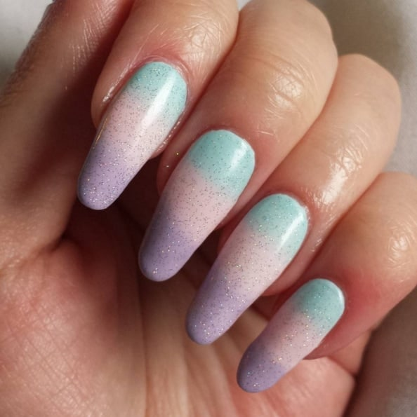 Cotton Candy Nail Polish Color