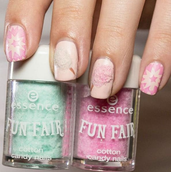Cotton Candy Nail Polish Station: Sweet Cotton Candy Nail Colors And Designs