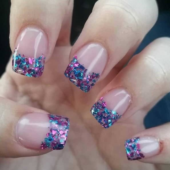Sweet Cotton Candy Nail Colors And Designs Stylendesigns