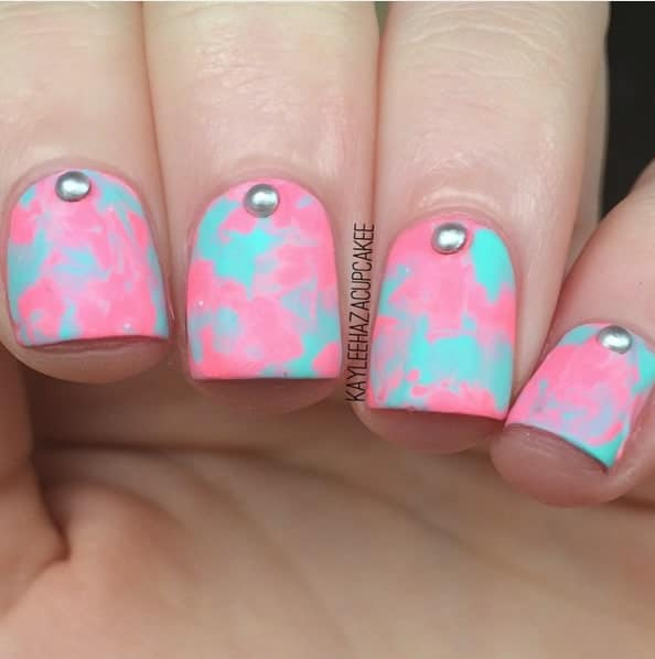 Fake Cotton Candy: Sweet Cotton Candy Nail Colors And Designs