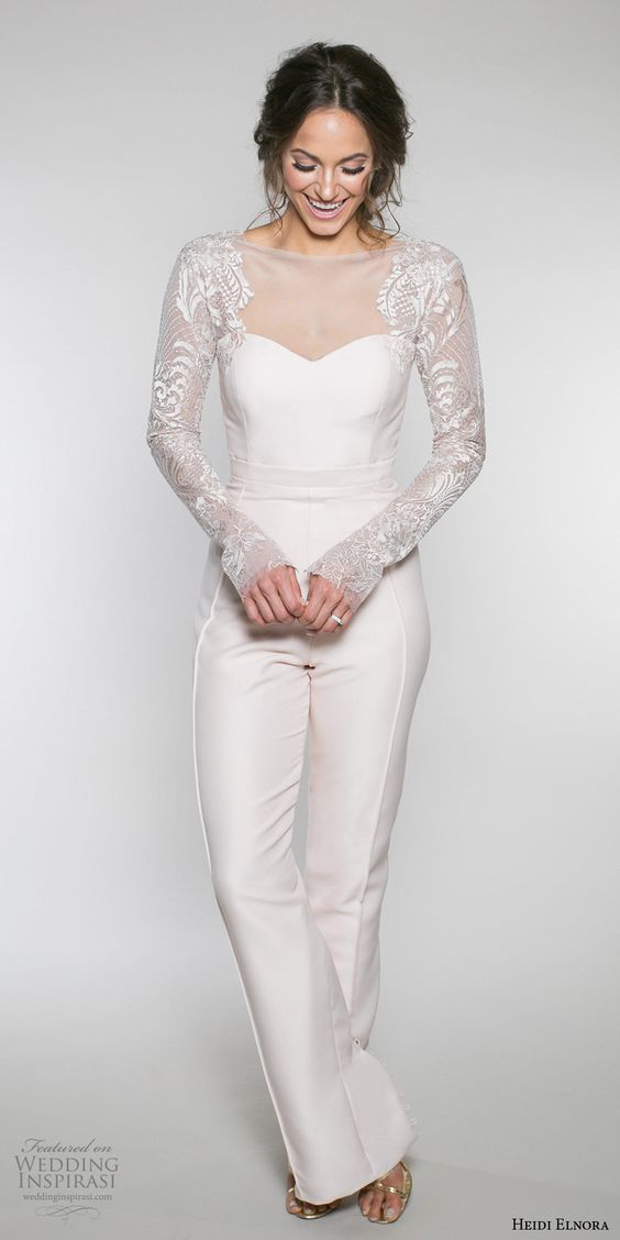 Minimal Wedding Dress Style Less is More
