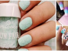 cotton candy nails