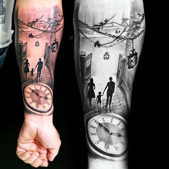Father And Son Tattoos Ideas