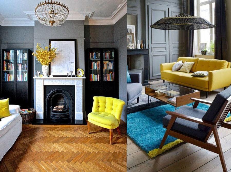 Enter freshness using unique yellow living room ideas - Unique living room ideas ...