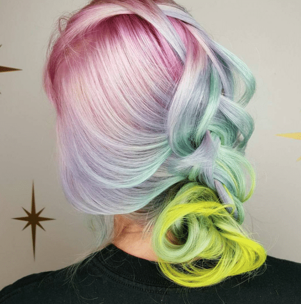 unicorn hair color