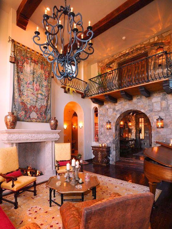 Tuscan Interior Style