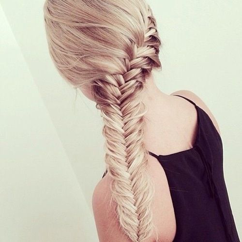 Spiral Fishtail Braid