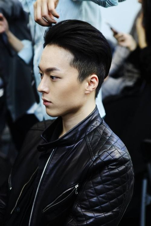 short asian mens hairstyles side cut