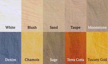 tuscany color scheme